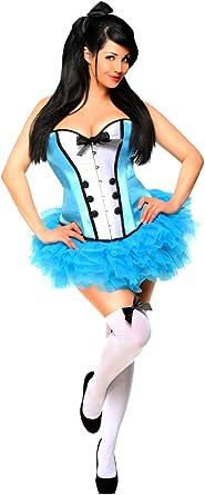 Daisy corsets Womens Petticoat Plus White