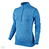 Women's Nike Dry Element Running Top Light Photo Blue Size X-Large