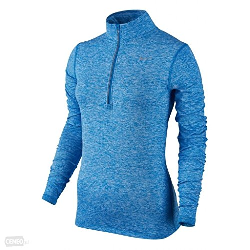 Women's Nike Dry Element Running Top Light Photo Blue Size X-Large by NIKE