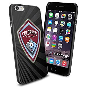 diy zhengSoccer MLS Colorado Rapids FC LOGO SOCCER FOOTBALL , Cool iphone 5c Smartphone Case Cover Collector iphone TPU Rubber Case Black