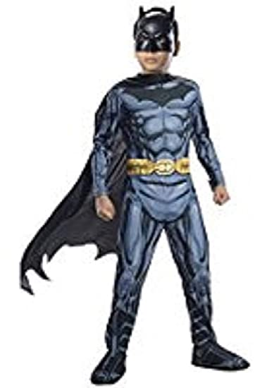 Amazon.com: DC Justice League Batman Costume, Hard Mask ...