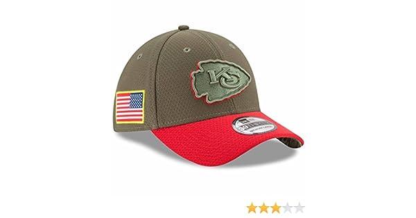 0d24396bf Amazon.com   Kansas City Chiefs New Era NFL 39THIRTY 2017 Sideline