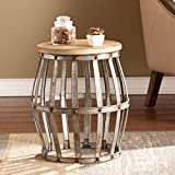 Farmhouse Coffee Table and End Tables SEI Mencino Accent Table