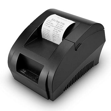WHCCL Impresora de Etiquetas portátil, Impresora térmica de ...