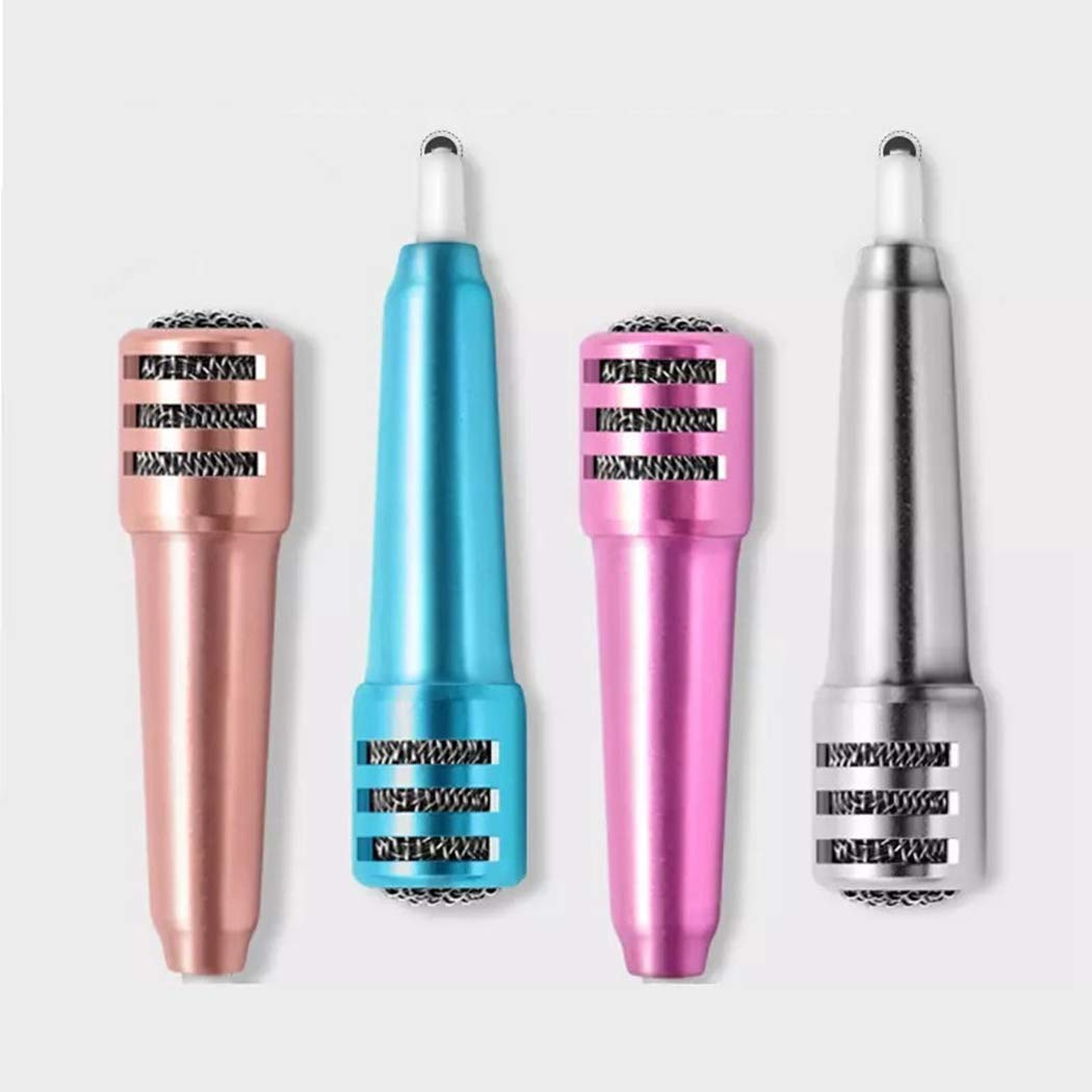 Bangcool Mini Portatile Handheld Musica Mic Stereo Microfono per Smartphone