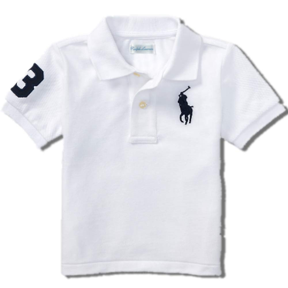 Ralph Lauren Baby Boys Big Pony Polo T Shirt (3 M)