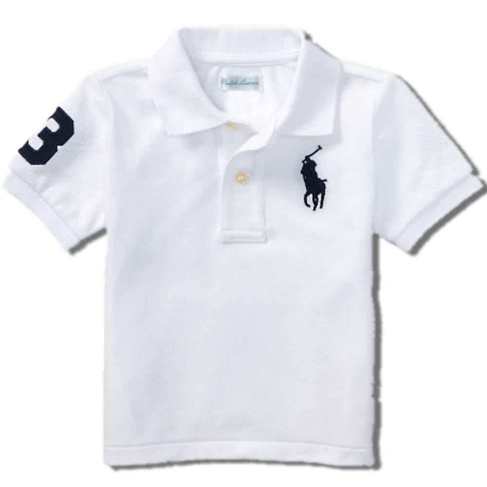 Ralph Lauren Baby Boys Big Pony Polo T Shirt (24 M)