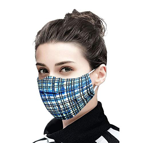 LIFE by Shoppers Stop 2 Ply Protective Mask for Womens Pack of 5 (Assorted, Free Size)