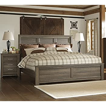 king bedroom. Juararoy Casual Dark Brown Color Replicated rough sawn oak King Bed And  Nightstand Amazon com Prepac Sonoma 4 Piece Bedroom Set in Black