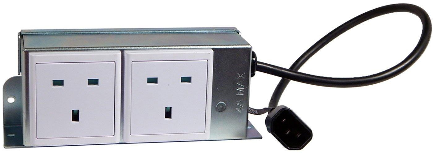 Ergotron Mobile Computing UK Aux Power Outlet EMC-2P by Ergotron