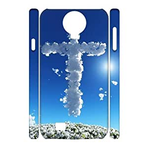 D-PAFD Cell phone Cases Jesus Christ Cross Hard 3D Case For Samsung Galaxy S4 i9500