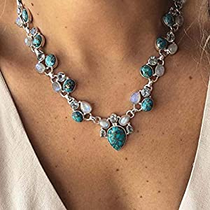 Best Epic Trends 51yvQB1BlZL._SS300_ Victray Boho Star Necklace Coin Neck Chain Choker Pendant Necklaces Fashion Jewelry for Women and Girls