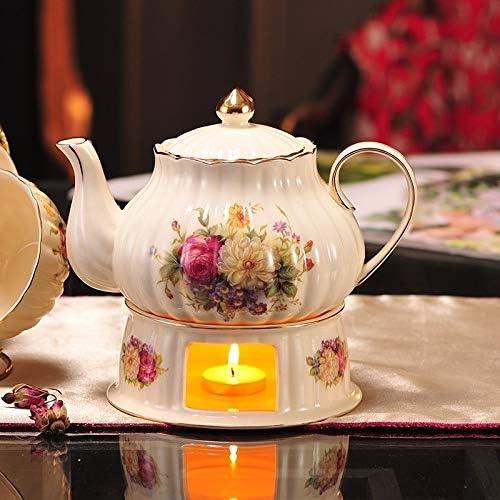 Floral Tetera, Cafetera de porcelana, cerámica café del pote del ...