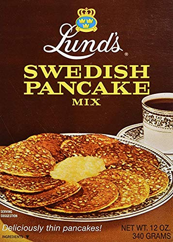 (Lunds Pancake Mix, Swedish, 12 Ounce (2))