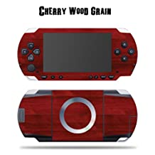Mightyskins Protective Vinyl Skin Decal Cover Sticker for SONY PSP - Cherry Woodgrain