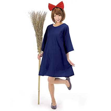 Japanese Anime Witch Dress Animated Cartoon Costumes Cosplay Party Goods  (Japan Import)