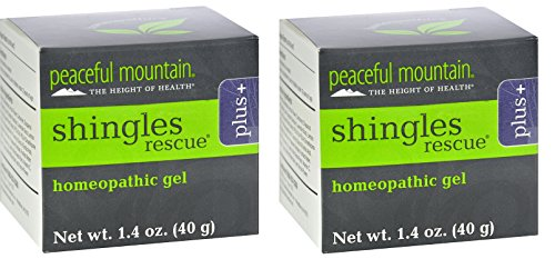 Peaceful Mountain Shinglederm Rescue Plus, 1.4-Ounce Package (2)