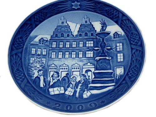 『並行輸入品』 イヤーズプレート2009年 Royal Copenhagen B009IAP4Y0