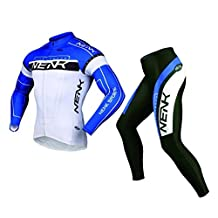 Sobike NENK Cycling Suits Long Sleeve Jersey & Long Tights Pants for Summer-Cooree