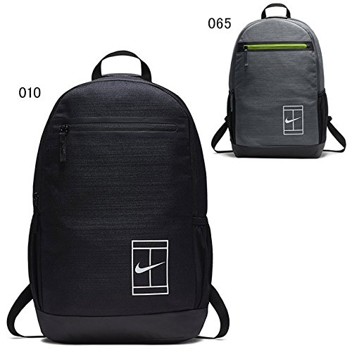 Nike Court Tennis Backpack (Black/Black/White, One Size)