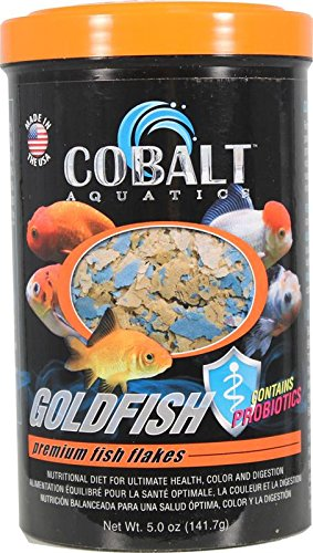 Cobalt Aquatics Goldfish Color Flake, 5 (Goldfish Aquatic Flake)