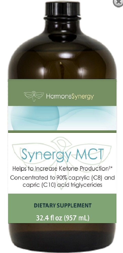 Synergy MCT Oil   Distilled and Highly Concentrated MCT Oil w/ 90% caprylic (C8) and capric (C10) acid triglycerides (0% C12)   10 grams of MCT per Serving   90 Servings!