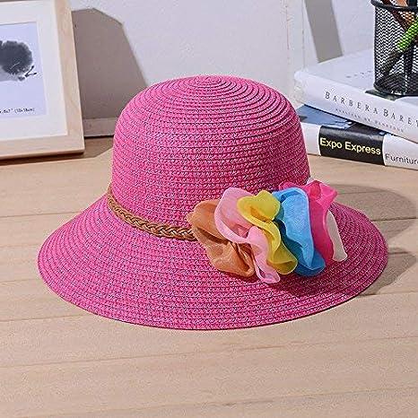 cb437493 Demana Summer Fashion Straw Hats/Fisherman Hat Women Foldable Flower Sun Hat  Beach Hat Cap at Amazon Women's Clothing store: