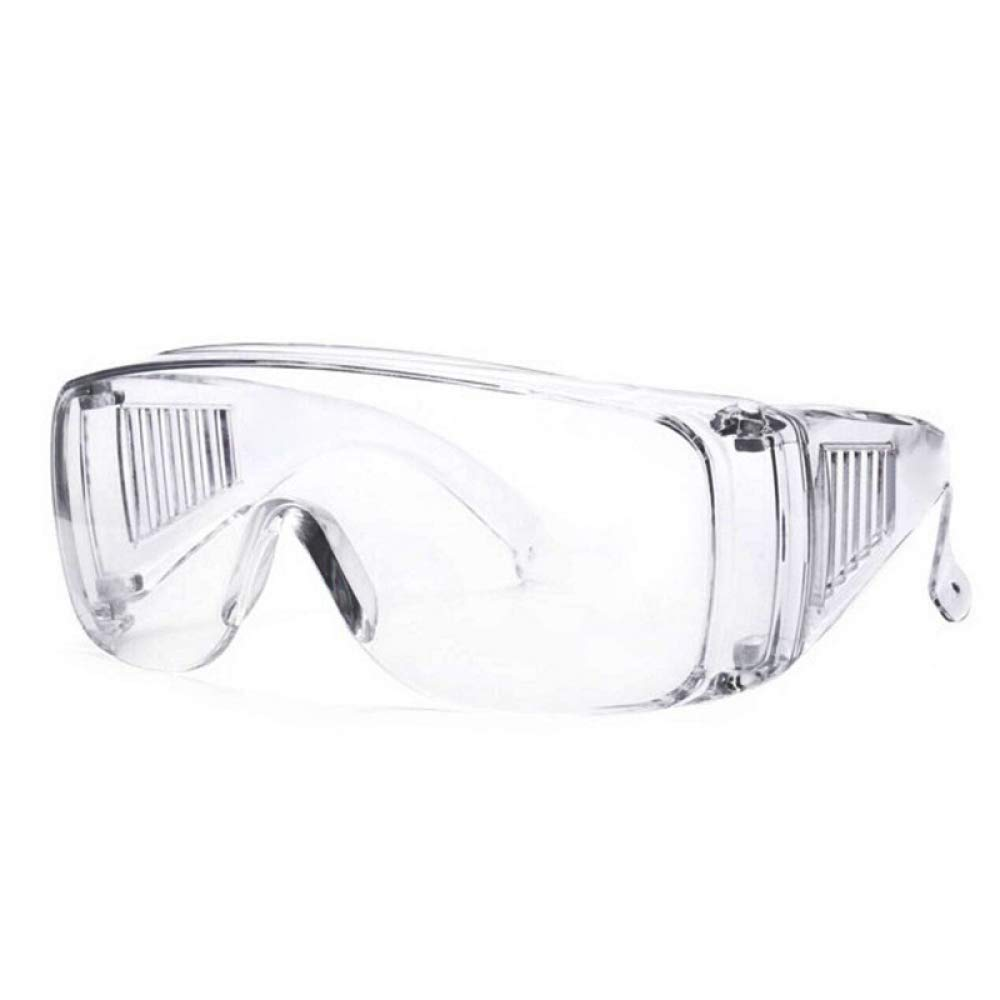 Gafas Pro Lentes Transparentes Cuerpo Transparente Gafas A Prueba De Arena Y Polvo Gafas Protectoras De Seguridad Multifuncionales Sin Recubrimiento Gafas Antiinfecciosas Para Infecci/ón Por Aire