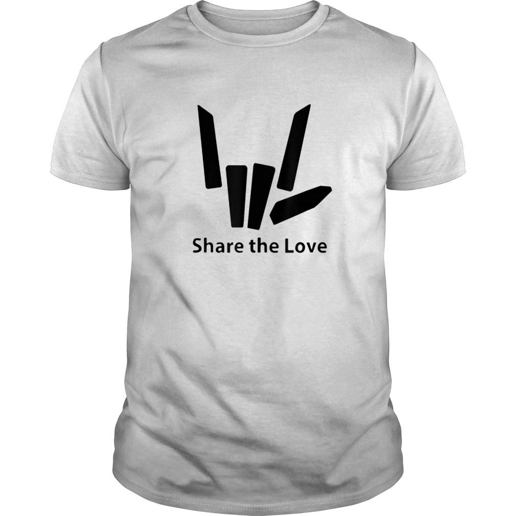 Share Love Cute T Shirt For And
