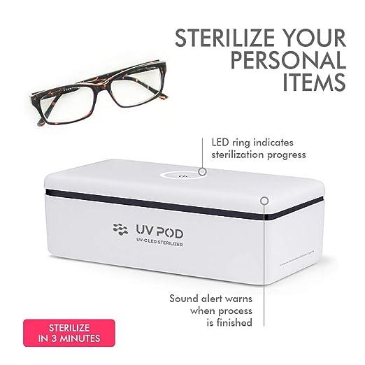 Amazon.com: Caja esterilizadora LED UV (profesional ...