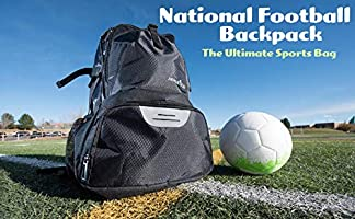 Athletico National - Mochila de fútbol y baloncesto, incluye ...