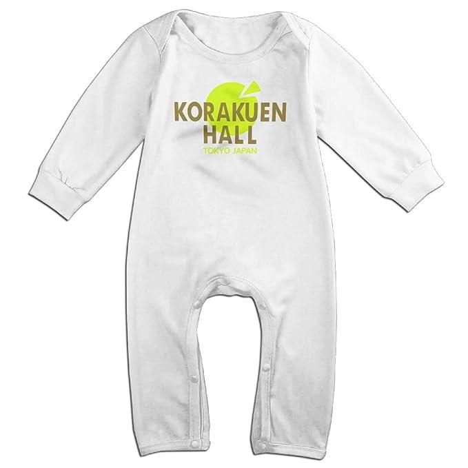 a91ecbb16c Amazon.com  Zhu Bajie Soft Korakuen Hall (Tokyo Japan) Long-Sleeve Bodysuit  Romper For Infant Baby White  Clothing