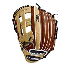 "The classic A2K 1799 pattern is made with Copper, Blonde and White Pro Stock Select leather, and is available in a left- and right-hand throw. At 12.75"", MLB players favor this glove for its incredible length and deep pocket. The reinforced d..."