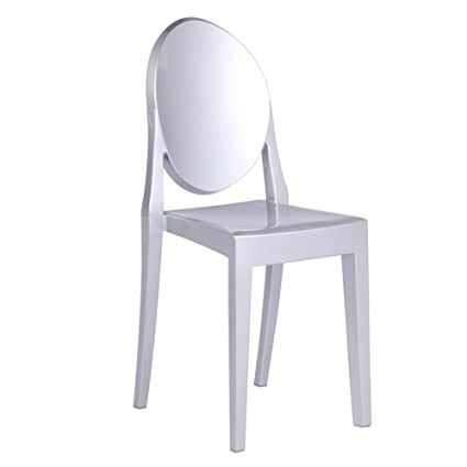 Admirable Amazon Com Modern Contemporary Dining Chair Silver Ibusinesslaw Wood Chair Design Ideas Ibusinesslaworg