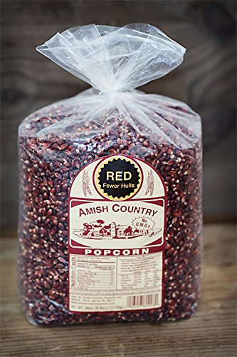 Amish Country Popcorn - Red Popcorn (6 Pound Bag) - Old Fashioned, Non GMO, and Gluten Free - with Recipe Guide by Amish Country Popcorn (Image #4)