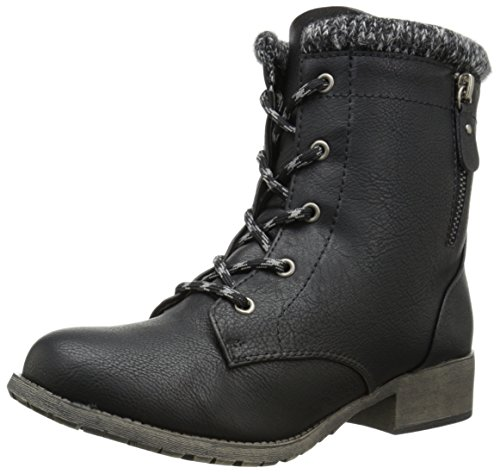 Jellypop Womens Mousse Engineer Boot Black Small