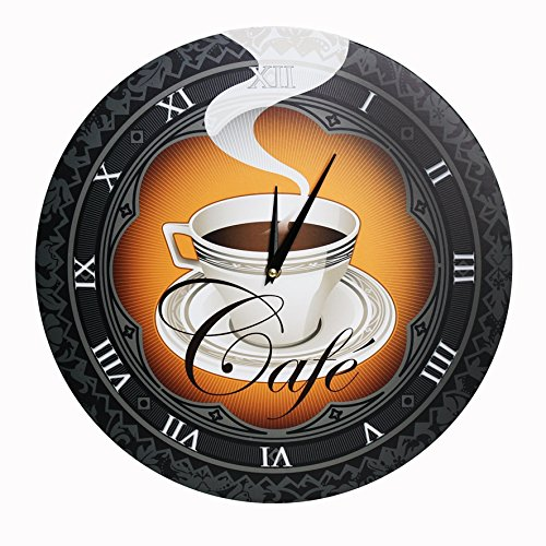 Kitchen Wall Clock - 'Cafe' (16