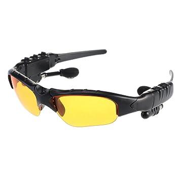 VicTsing Auriculares inalámbricos Bluetooth Music gafas de sol de los vidrios de Sun del auricular de