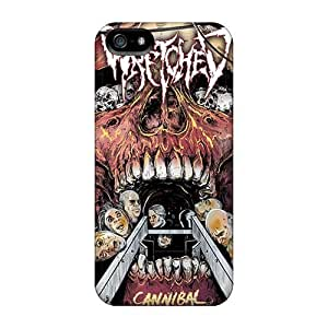 Anti-Scratch Cell-phone Hard Cover For Iphone 5/5s With Custom Vivid Papa Roach Pattern PhilHolmes