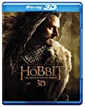 Cover Image for 'The Hobbit: The Desolation of Smaug (Blu-ray 3D + Blu-ray + DVD + Digital HD UltraViolet Combo Pack)'