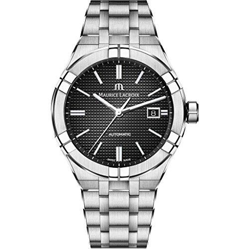 Maurice Lacroix Aikon Gents Automatic Watch, 42 mm, Steel bracelet, 20 atm