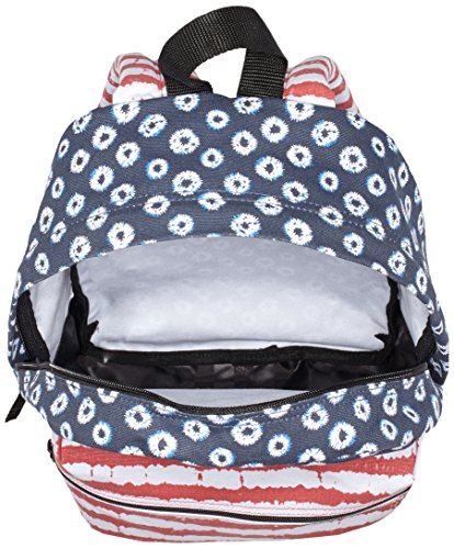 Vans Damen Calico Rucksack Mehrfarbig (dyed Dots/stripes/blue/red)