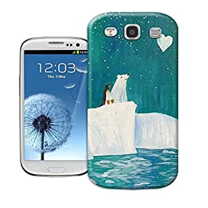 Protection Case Tpu Phone Cover For samsung galaxy s3 With Polar Bear Penguin Pattern