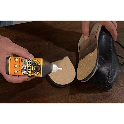 Gorilla Original Gorilla Glue, 4 oz., Brown With 10 Disposable Latex Finger Cots Rubber Fingertips by Baby Galore (Image #4)