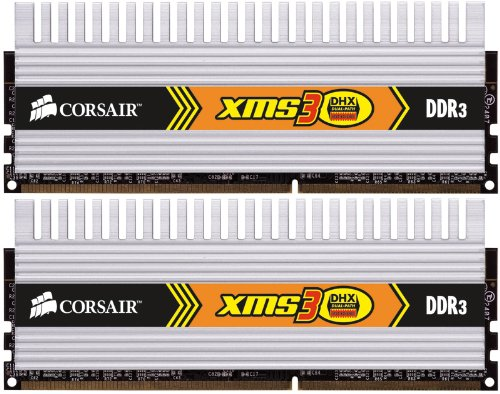 Corsair XMS3 4GB (2x2GB) DDR3 1333 MHz (PC3 10666) Desktop Memory 1.5V