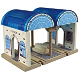 Toys for Play MA50955 Central Station Wooden Train Set
