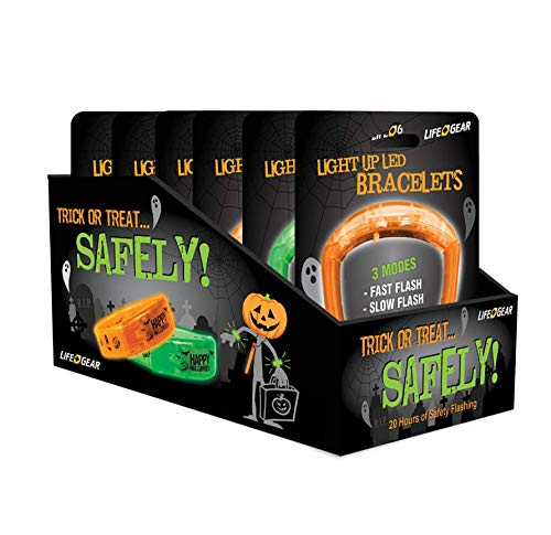Life Gear 6-Pack Halloween LED -