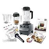 the vitamix 5200 blender - Vitamix 5200 Deluxe Complete Kitchen Set, Black 64 Oz Wet/32 Oz Wet/32 Oz Dry...