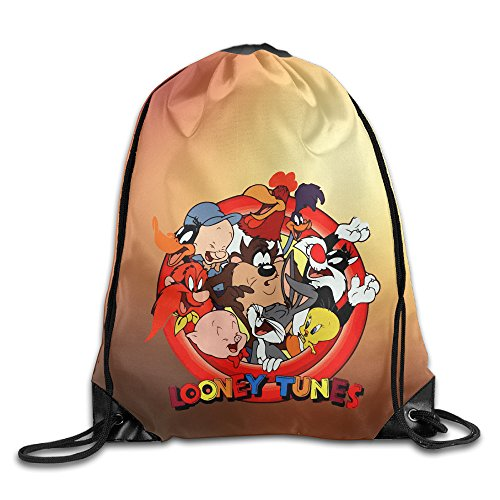 Drawstring Tote Backpack Bag Looney Tunes Bugs Bunny