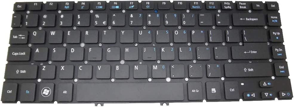 Laptop Keyboard for ACER Aspire M5-481 M5-481G M5-481PT M5-481PTG V5-471 V5-471G V5-471P V5-471PG EC-470G United States US NO Frame